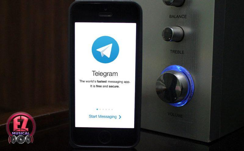 یافتن نام موزیک و خواننده در هنگام پخش موزیک با استفاده از تلگرام