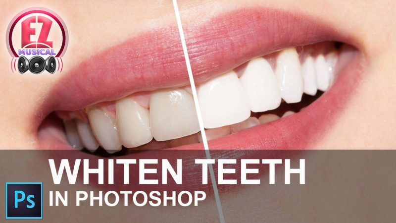 سفید کردن سریع دندانها با فتوشاپ !