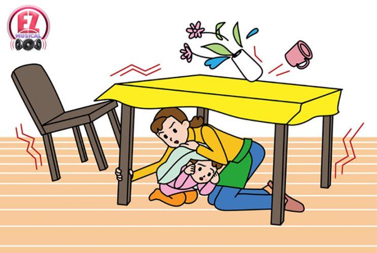 اقدامات مهم قبل، بعد و هنگام زلزله