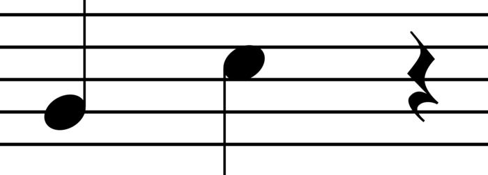 سکوت سیاه تئوری موسیقی   انواع سکوت و ارزش زمانی آنها