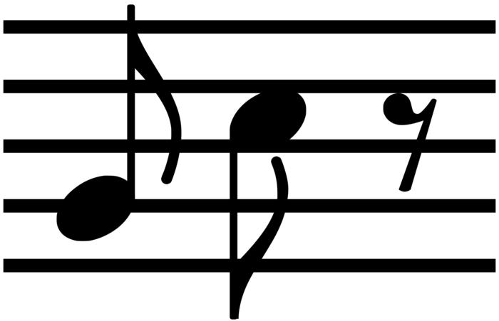 سکوت چنگ تئوری موسیقی   انواع سکوت و ارزش زمانی آنها