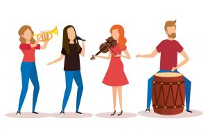Music Band 300x194 ۲۰ تمرین کاربردی در نوازندگی (به قلم اساتید)