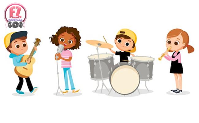 بهترین روش های آموزش موسیقی به کودکان (۳-۹ ساله)
