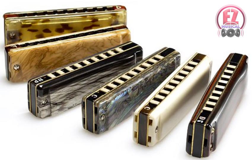 Top Harmonicas همه چیز در مورد سازدهنی (Harmonica)