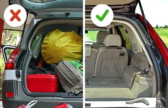 بار اضافی تخلیه شود چند ترفند کاربردی که به کاهش مصرف بنزین کمک می کنند