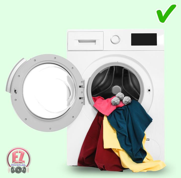 توپ فویل آلمینیومی چند فوت و فن برای شستن لباس ها با ماشین لباس شویی که بهتر است آنها را یاد بگیرید