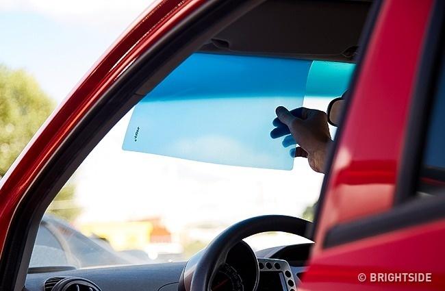 ورق آکریلیک به عنوان آفتابگیر چند ترفند کاربردی نگهداری از ماشین، از زبان رانندههای حرفهای