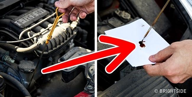 چک کردن روغن موتور چند ترفند کاربردی نگهداری از ماشین، از زبان رانندههای حرفهای