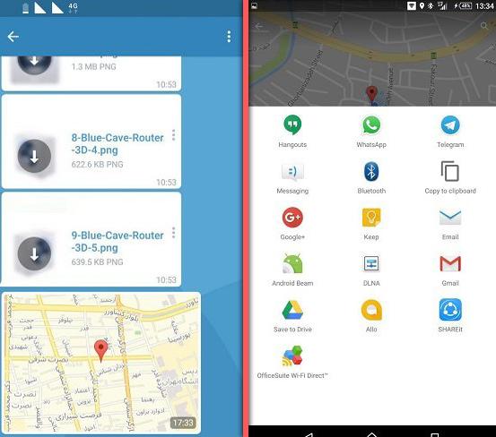 گوگل مپ 2و3 چگونه با گوگلمپ، موقعیت مکانی خود را برای دیگران بفرستیم؟