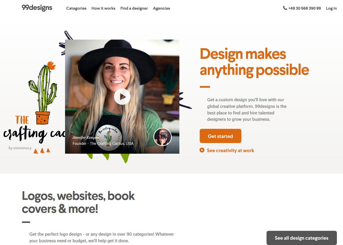99designs معرفی راه های درامدزایی دیجیتال و دورکاری