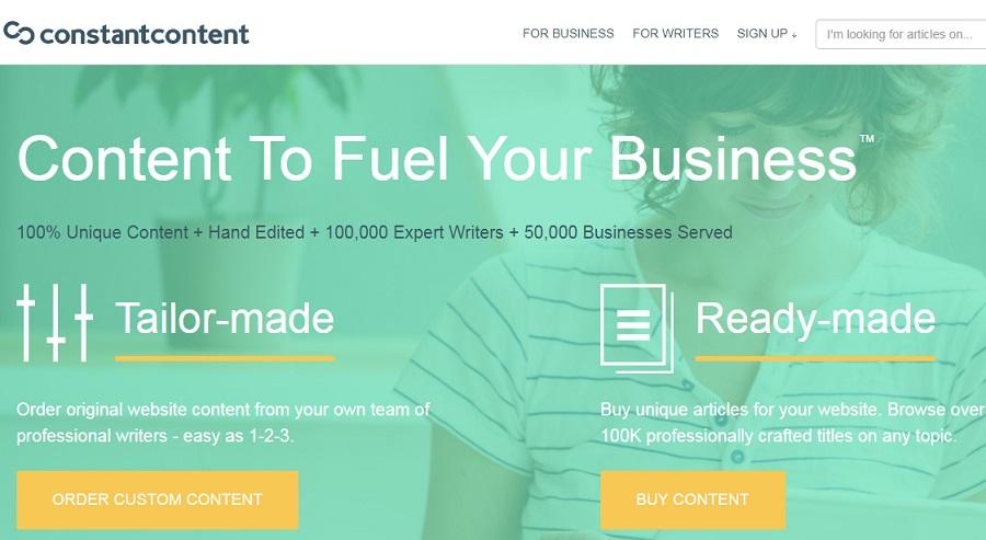 Constant Content معرفی راه های درامدزایی دیجیتال و دورکاری