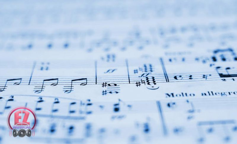 تئوری موسیقی – خط اتصال
