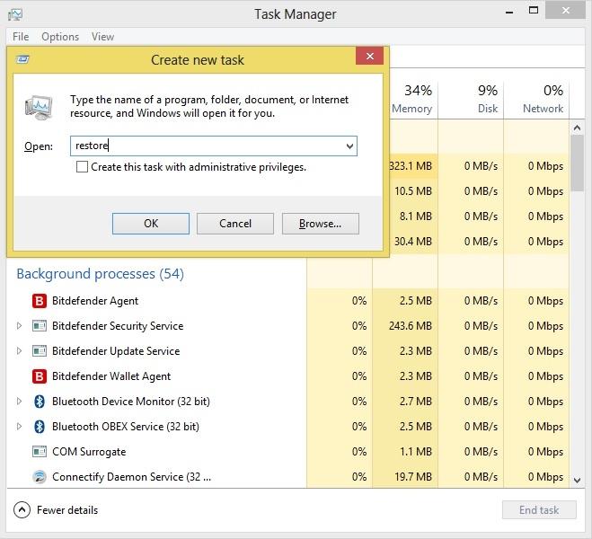 ویندوز هنگ کرده 1 بازگردانی ویندوز هنگ کرده با یک روش ساده (Windows 7)