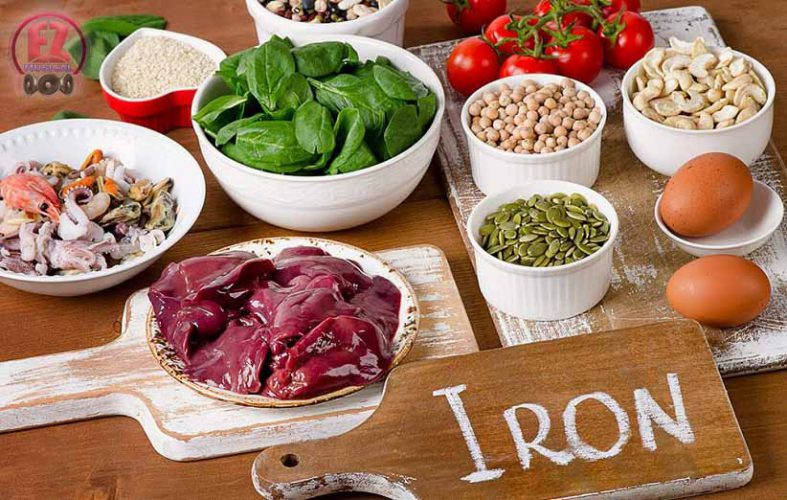 9 نشانه کمبود آهن بدن