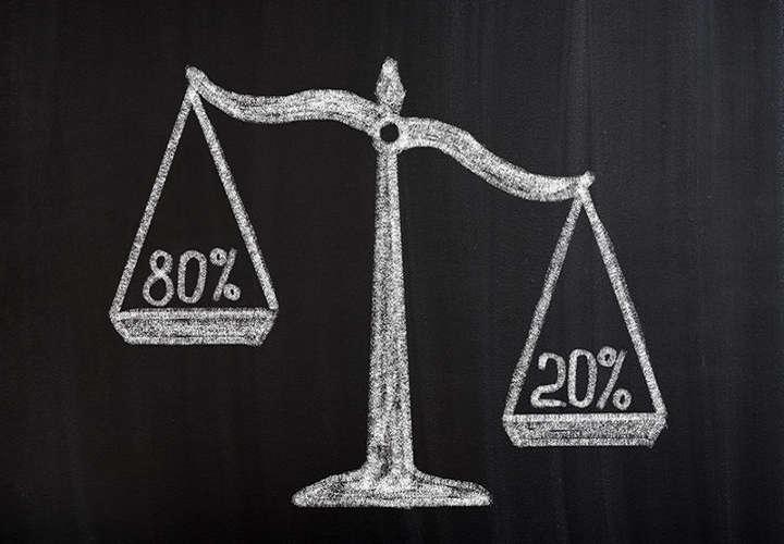 20 80 2 قانون 20/80 برای بهبود بهره وری و مدیریت زمان روش های استفاده از قانون بیست هشتاد یا اصل پارتو در زندگی