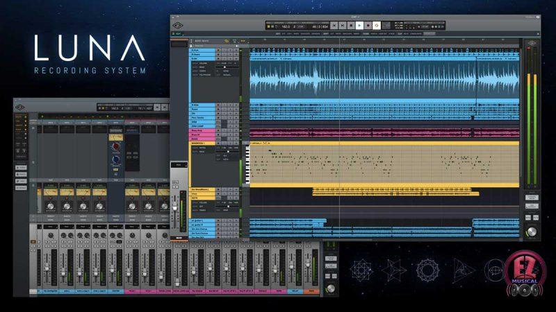 LUNA نرم افزار آهنگسازی کمپانی Universal Audio برای مک