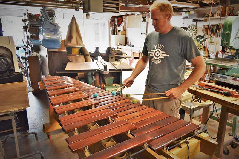 Marimba 2 سازشناسی: ساز ماریمبا