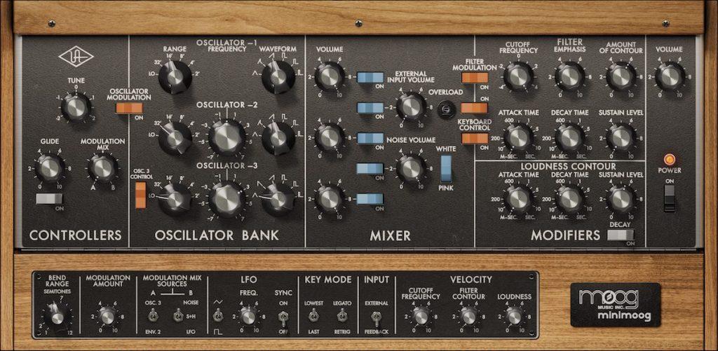 Moog LUNA نرم افزار آهنگسازی کمپانی Universal Audio برای مک