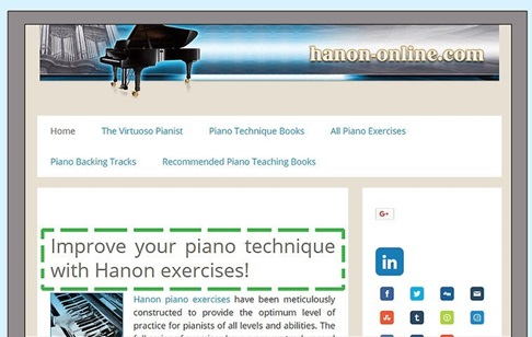 Piano Exercise 5 راه های کسب مهارت در نواختن پیانو