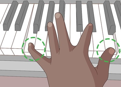 Piano Exercise 7 راه های کسب مهارت در نواختن پیانو