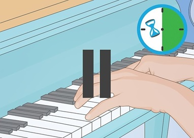 Piano Exercise 8 راه های کسب مهارت در نواختن پیانو