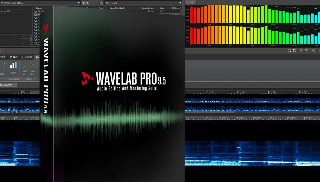 Wavelab میکس و مستر چیست؟