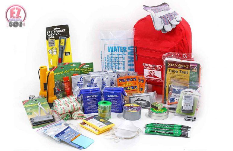 کیف نجات زلزله و محتویات آن