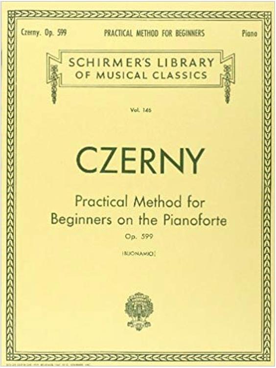 CZERNY معرفی چند کتاب آموزش پیانو مفید و کاربردی