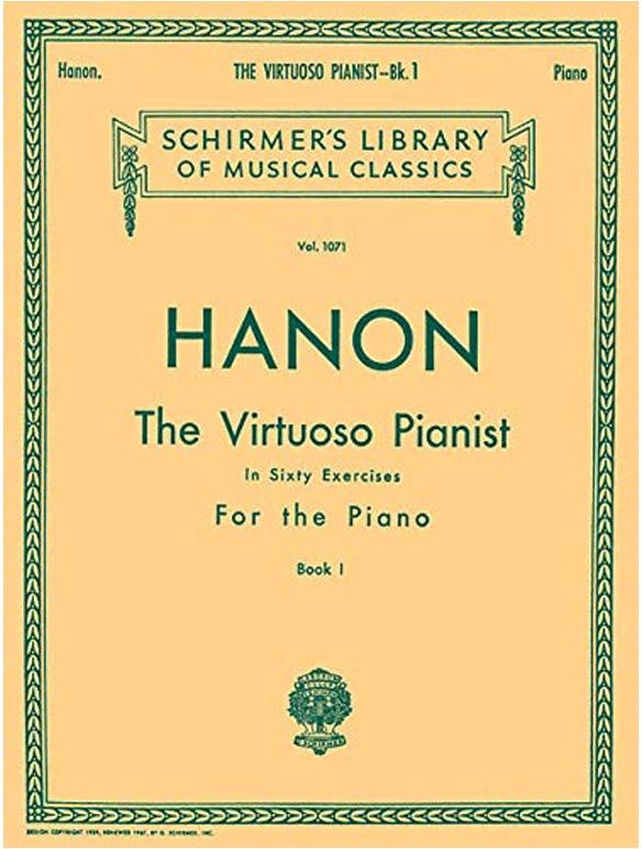 hanon معرفی چند کتاب آموزش پیانو مفید و کاربردی