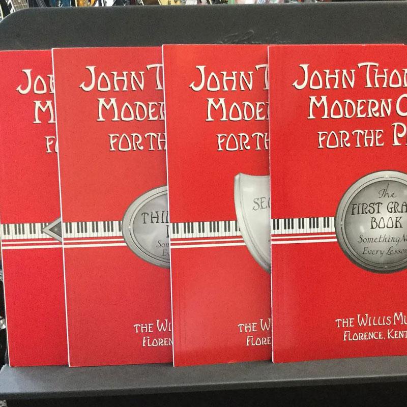 john tham معرفی چند کتاب آموزش پیانو مفید و کاربردی